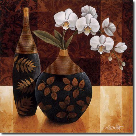Cuadro Orquidea Linda I - Keith Mallet