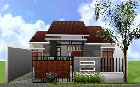 ツ 52+ desain rumah minimalis tampak depan 1 lantai modern