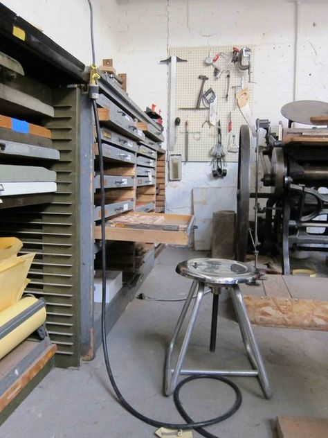 The studio at Matter, Denver, Colorado, 2011. Photograph: Rick Poynor. From the essay: Studio Culture: The Materialism of Matter
