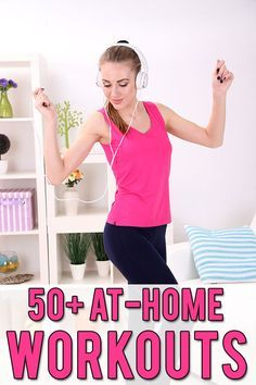 50+ At Home Workouts - Hairspray and Highheels
