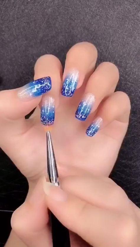 Simple nails art design video Tutorials Compilation Part  178 - #compilation #design #nails #simple #tutorials #Video - #New