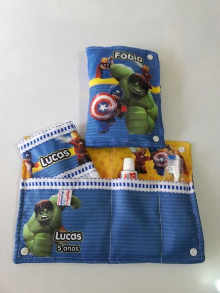 05752ddadfe39 Compre Kit Higiene Lego Vingadores no Elo7 por R$ 13,90 | Encontre mais