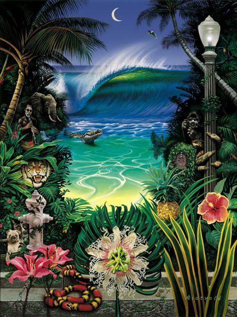 Midnight Light [Limited Edition] - SurfArt