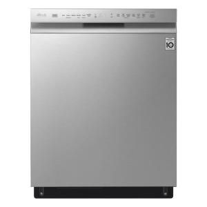 Samsung 24 In Stainless Steel Front Control Dishwasher With 3rd Rack And 51 Dba Dw80n3030us The Home Depot In 2021 Steel Tub Built In Dishwasher Samsung Dishwasher