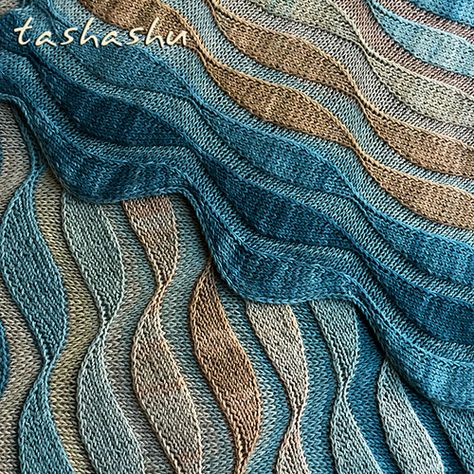 Ravelry: Stole Dunes pattern by Svetlana Gordon
