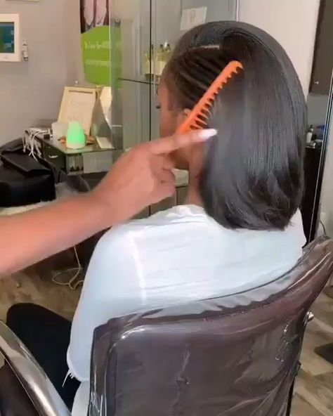 short natural style bob lace wig, buy this short straight  lace front wig for black women get more discount, coupon code: PIN35 #chinalacewig #wigs #shorthair #wigins #hairlife #hairstylist #hairstylist #naturalhairline #straighthair #bob #bobcut #wigforsale #blackgirlmagic #lacewig