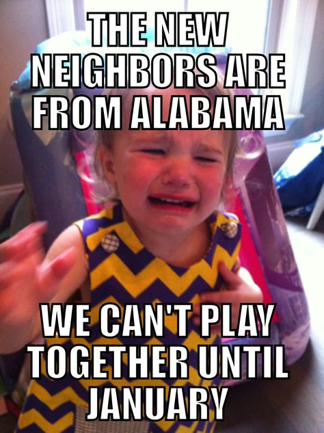 Kid Problems {LSU Football Edition} | Red Stick Moms Blog