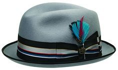 A stingy brim hat is a fedora that has a very small brim. Stingy brim hats are becoming more and more popular.