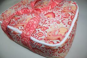 Zippered casserole carrier pattern sew DIY | Sewing