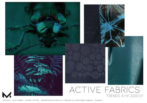 Functional fabric trends for activewear A/W 2020/21 - Moject