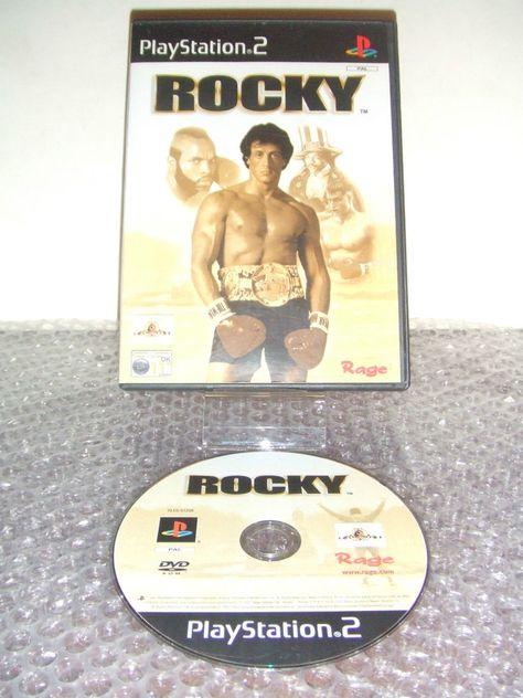 Rocky Ps2 Ps3 Playstation Italiano Prima Stampa Sony