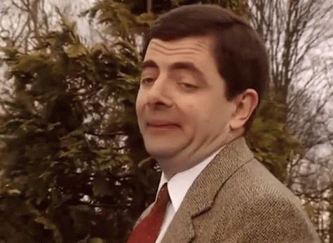 Mr Bean Too Easy GIF - MrBean TooEasy Easy - Discover & Share GIFs