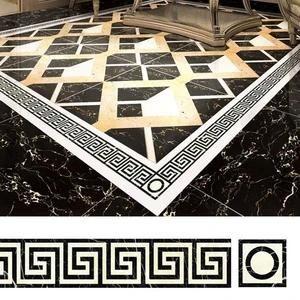 Floor Tiles Decor Stickers 5m Di 2020 Dekorasi Kreatif Kreatif Lantai