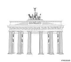 Building Sketch Google Search Brandenburg Gate How To Draw Hands Brandenburg