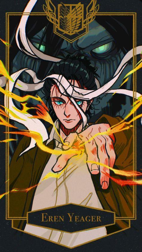 Eren Jaeger • Mikasa Ackerman • Armin • Levi • Attack on Titan • Shingeki no Kyojin • Final Season 4