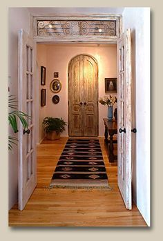 French Doors With Transom Closet Door Crafted With Antique Doors