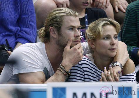 Elsa Pataky y Chris Hemsworth en los Olimpicos de Londres 2012    http://hablemonos.com/elsa-pataky-y-chris-hemsworth-en-los-olimpicos-de-londres-2012/