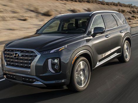 The 2020 Hyundai Palisade Is A Boldly Styled Three Row Crossover Hyundai Palisades Roadshow