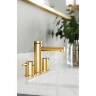 Legion Gold Bathroom Faucets Wayfair Widespread Bathroom Faucet Bathroom Faucets Faucet