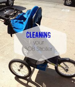 Everything's More Fun in a Tutu: Cleaning Your BOB Stroller
