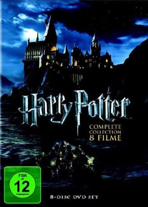 Harry Potter Komplettbox Teil 1+2+3+4+5+6+7.1+7.2 * NEU OVP * 8 DVD Box # in…