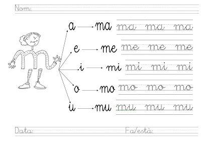 Aprender La Letra M Para Ni Os Aprender Las Letras Trazos De Letras Actividades De Letras