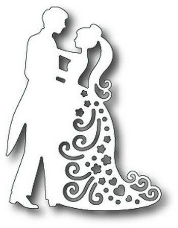 Tutti Designs - Cutting Die - Dancing Couple