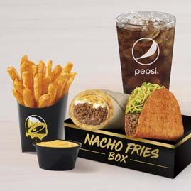 Nacho Fries Only At Taco Bell Nacho Fries Food Videos Desserts Food