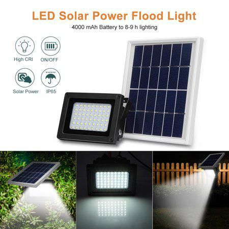 Solar Home Improvements And Tax Deductions Solar Flood Lights Solar Powered Flood Lights