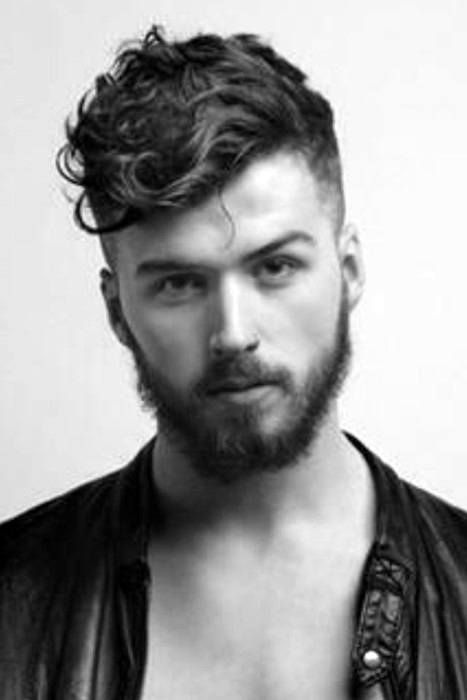 25 Curly Fade Haircuts For Men Manly Semi Fro Hairstyles Male Haircuts Curly Wavy Hair Men Curly Hair Men