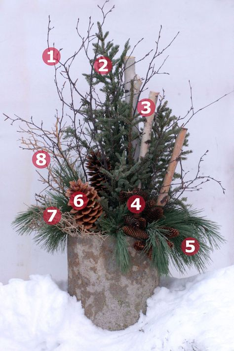 Winter Container 7: Numbered ID