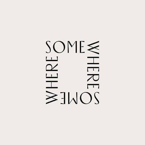 Modern, minimal typographic logo and branding designed by Wayfarer Logo Inspiration, Inspiration Typographie, Font Design, Web Design, Minimal Logo Design, Graphic Design Typography, Best Logo Design, Lettering, Typography Letters