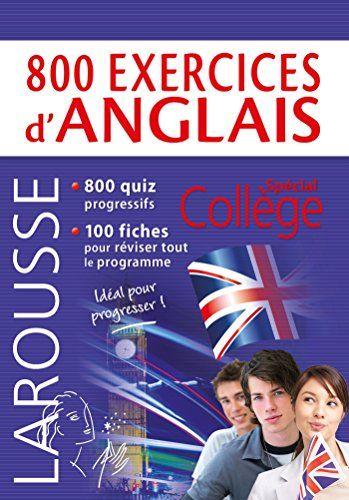 Telecharger 800 Exercices D Anglais Livre Pdf Gratuit Exercice Anglais Anglais Gratuit Livres Gratuits En Pdf