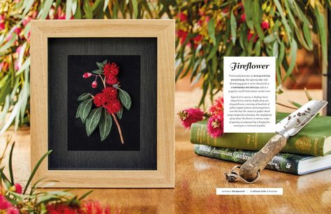 Inspirations - Embroidery Magazine from Australia, Issue #110, Stitching Sensations