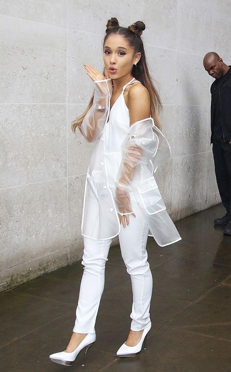 Ariana Grande on November 4th visiting BBC Radio 1 in London.