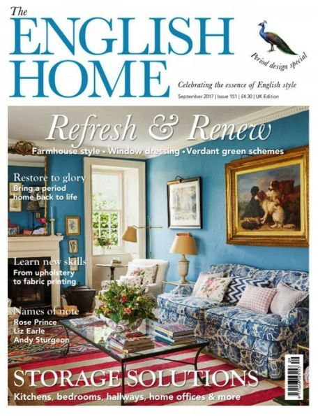 English Home One Year Subscription English House House And Home Magazine Printing On Fabric