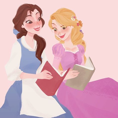 Belle and Rapunzel