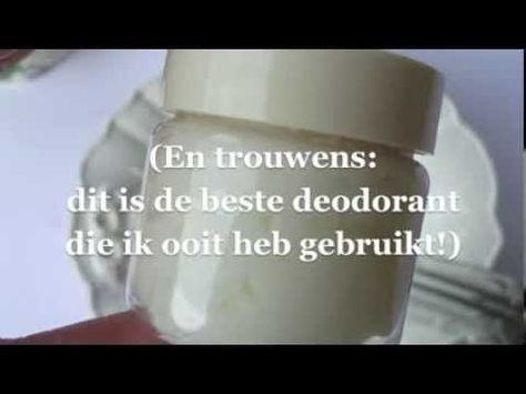 How to make your own natural deodorant - TUTORIAL - Hoe maak je zelf een natuurlijke deodorant