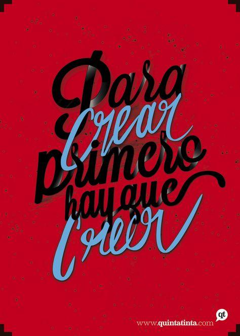 Una cita de Pablo Picasso, seleccionada y diseñada por Nicolás Rojas.
