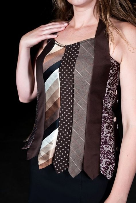 Beautiful Attire from Recycled Men's Ties