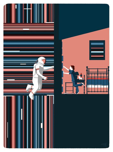 Interstellar movie tribute poster only .jpg file | Etsy