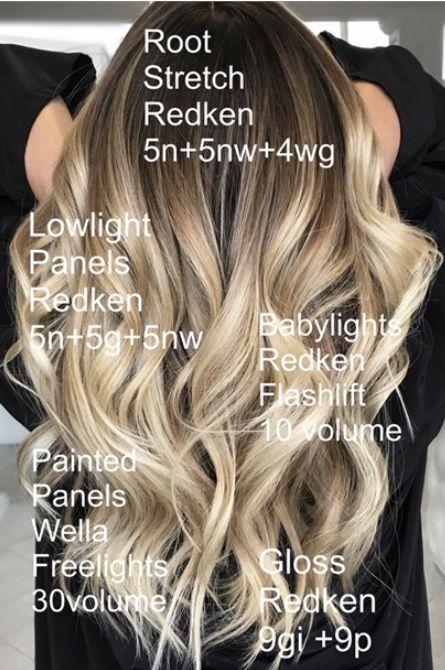 Frisuren Hairstyle Hairstyles Kapsel Hairstyles Hair Color Formulas Hair Color Techniques Redken Hair Color
