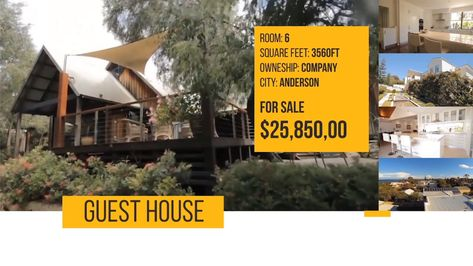 Real Estate Agent Marketing Video - After Effects Template