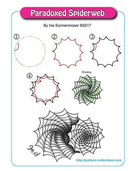 9 zentangle zeichnungenideen  zentangle zeichnungen