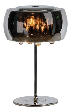 This Uniquely Designed Lamp Features A Vacuum Plated Shade And Diffuser With Borosilicate Glass Tear Drop Pendants Use Pink Lamp Shade Lamp Square Lamp Shades