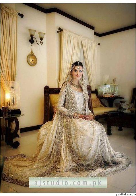 Pakistabi Bride in White- brides