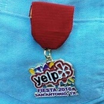 Yelp Fiesta Medal   Yelp has the nicest customer service