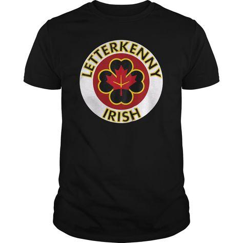 Letterkenny Irish Shoresy G200 Black Men Cotton T-Shirt S-6XL Made in USA
