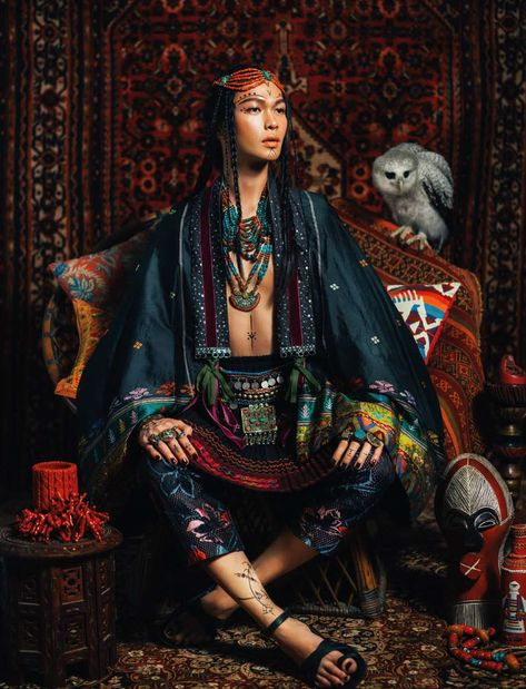 newfashion: Ferhostan for Harper Bazaar