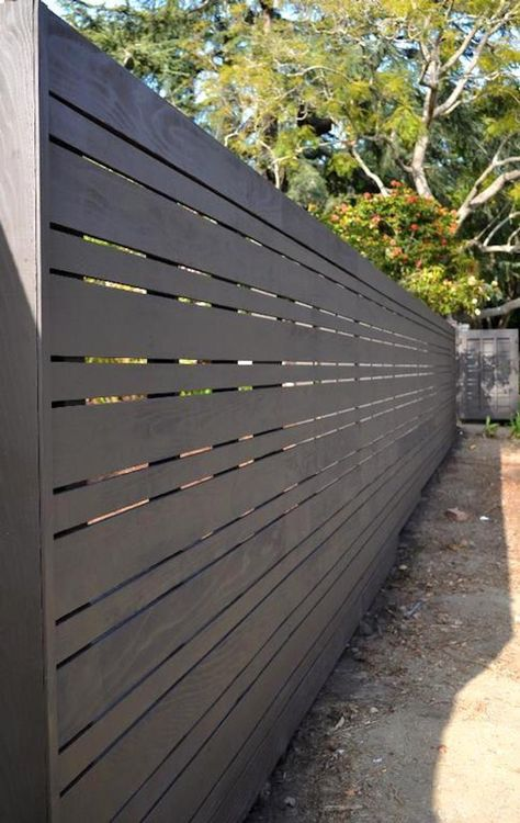 Stunning Tips: Fencing Ideas For Yard Privacy Fence Kickboard.Modern Fence Panels For Sale Wooden Fence Modern.Modern Fence Design In Nigeria. Modern Wood Fence, Wood Fence Design, Modern Fence Design, Privacy Fence Designs, Wooden Fence, Privacy Fences, Privacy Screens, Metal Fence, Modern Fence Panels